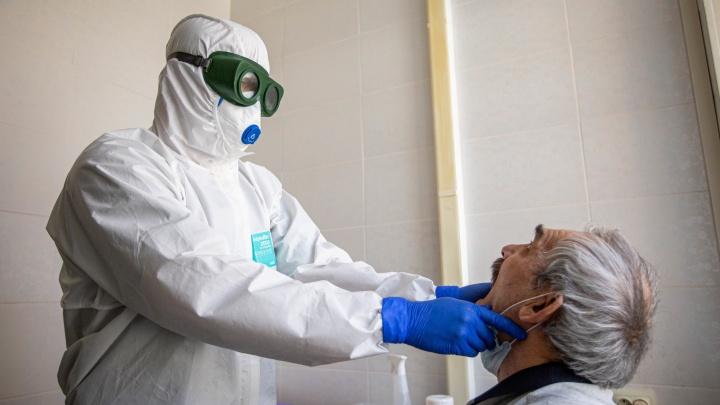 В Курганской области число зараженных COVID-19 приблизилось к 8 тысячам человек