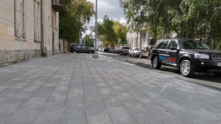 На Пушкина привели в порядок старинные гранитные плиты, за судьбу которых опасались урбанисты