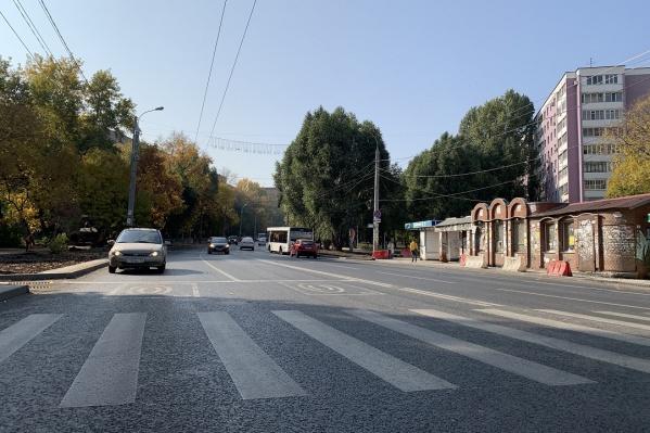 Новая ширина дороги позволит не создавать пробки