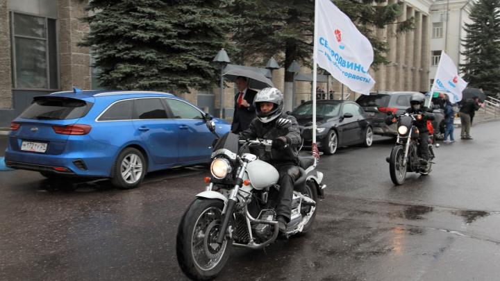 В Северодвинске начался автопробег для получения звания «Город трудовой доблести»