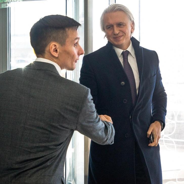 На решение Рохуса Шоха повлиял разговор с главой РФС Александром Дюковым