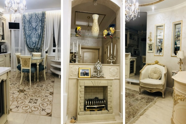 В квартире выполнен дизайнерский ремонт в едином стиле