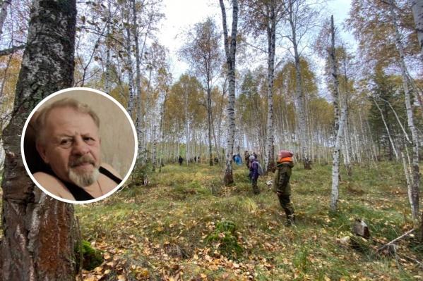 Мужчину ищут в лесополосе с 15 сентября