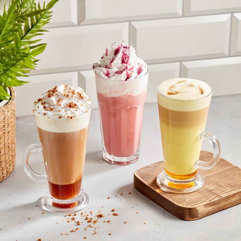 Кофейные коктейли подарят осеннее настроение