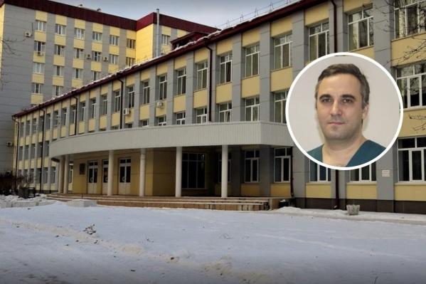 Андрей Шапкин — кандидат медицинских наук
