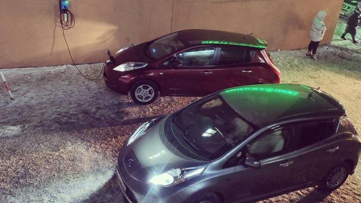 В Красноярске создают альтернативную сеть зарядок для электромобилей