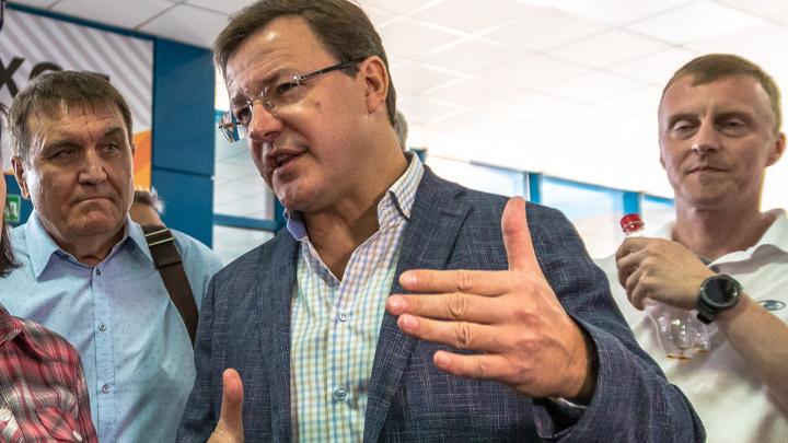 Дмитрий Азаров смягчил COVID-режим в Самарской области