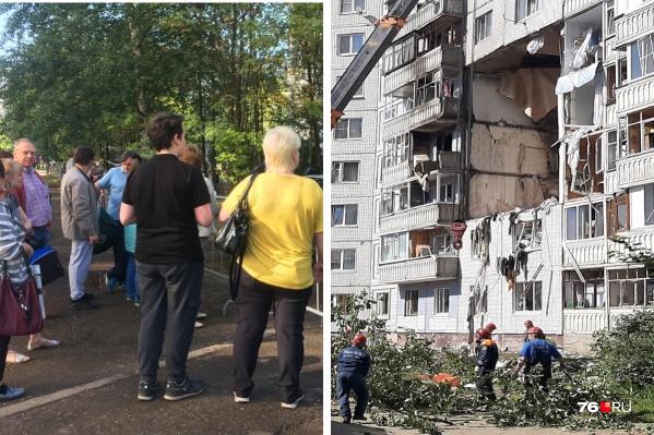 Власти планируют заселить третий подъезд взорвавшегося дома