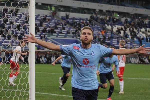 Иван Сергеев обеспечил победу родной команде