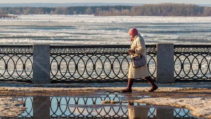 В Самарской области синоптики прогнозируют потепление до +10 и дожди
