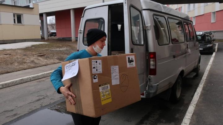 В магазины Архангельской области передали на продажу 200 тысяч масок