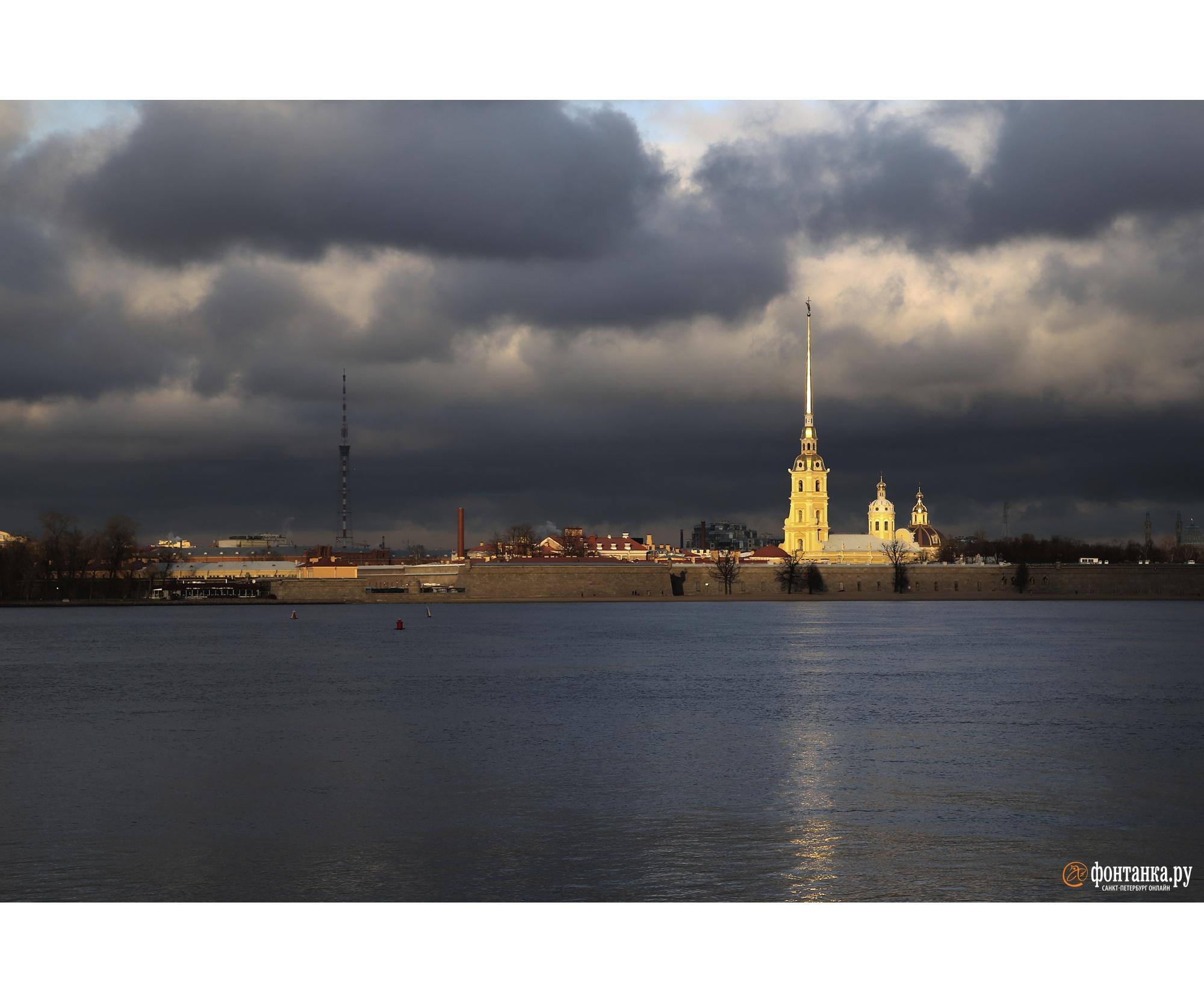 30 ноября порадовало петербуржцев солнцем
