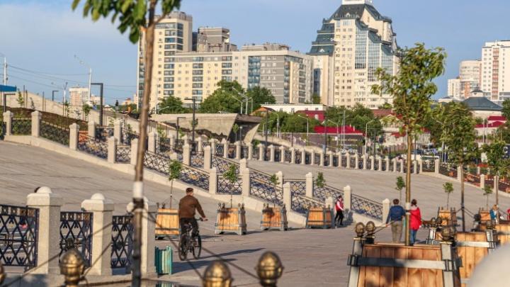 Набережную Белой в Уфе полностью откроют 1 августа