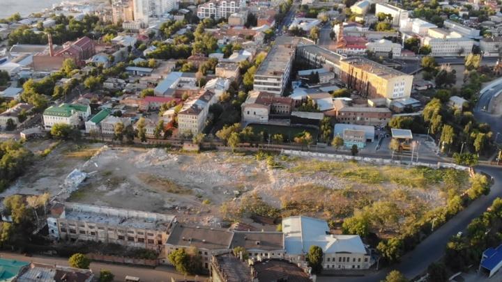 Территорию завода клапанов оставили без раскопок