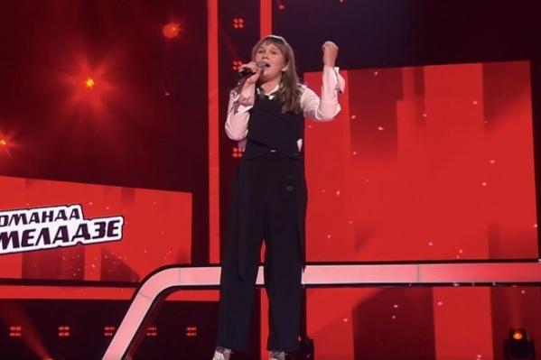 Соня покорила жюри своим совсем не детским вокалом и пониманием музыки