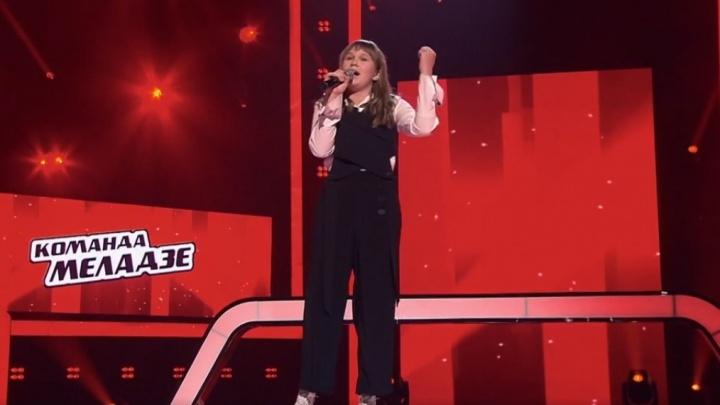 Школьница из Новосибирска дошла до финала шоу «Голос.Дети» — её выступление ближайшей ночью