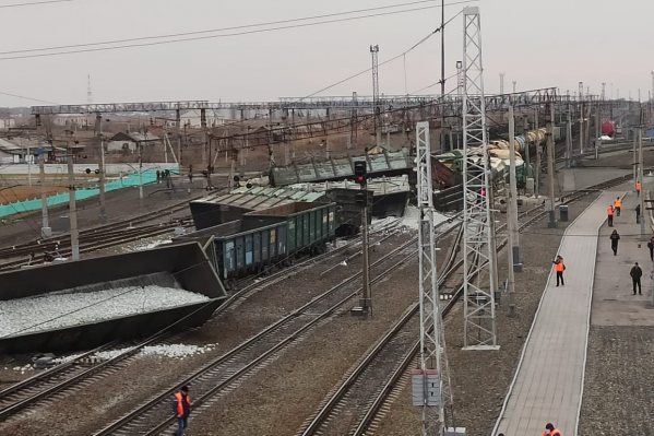 Сейчас на месте работает комиссияЗападно-Сибирской железной дороги