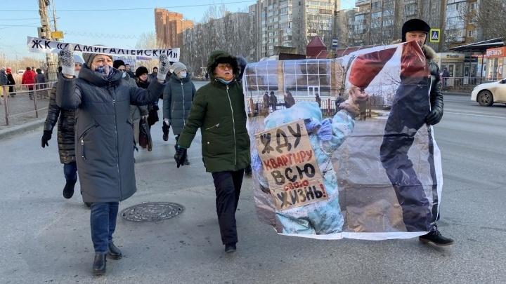 Приговоренная к штрафу дольщица ЖК «Адмиралтейский» обещает дойти до Европейского суда по правам человека