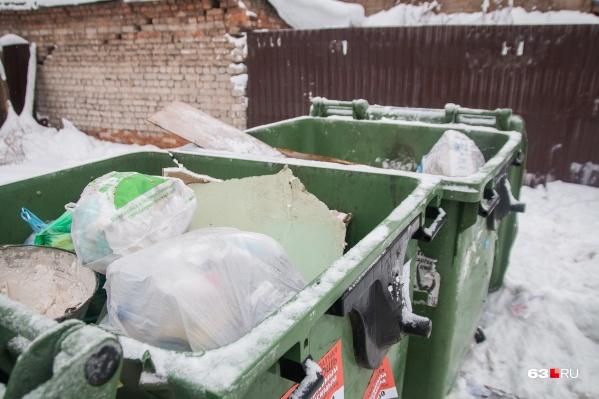 Вывоз кубометра мусора в регионе оценивают в598,16 рубля