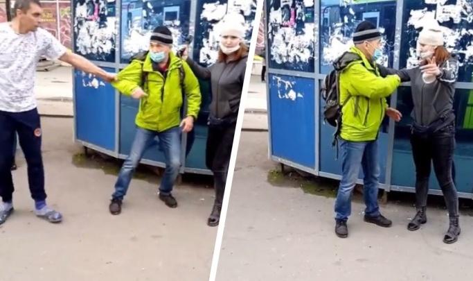 «Схватил кондуктора за грудки»: перевозчик рассказал подробности утреннего конфликта на площади Маркса