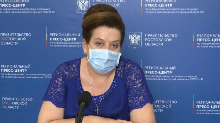 Быковская заранее обвинила туристов в августовском всплеске заражений на Дону