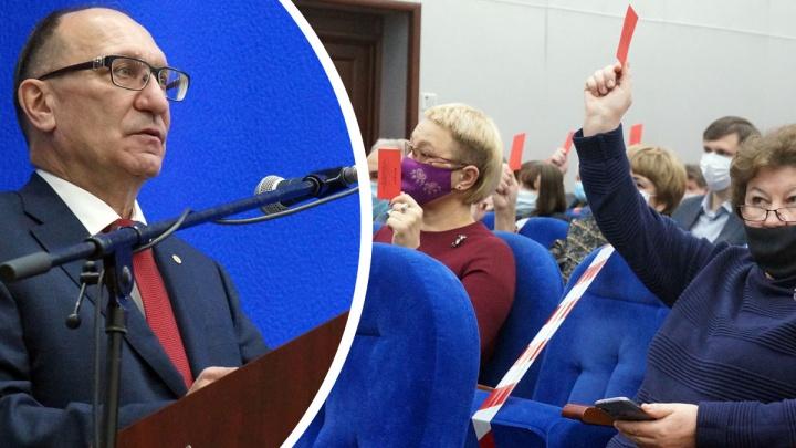 Ректором НГТУ им. Алексеева избрали Сергея Дмитриева. Его поддержал почти весь коллектив