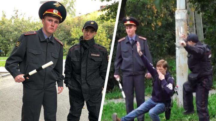 Останавливали прохожих и заставляли приседать: в Екатеринбурге появились фейковые полицейские