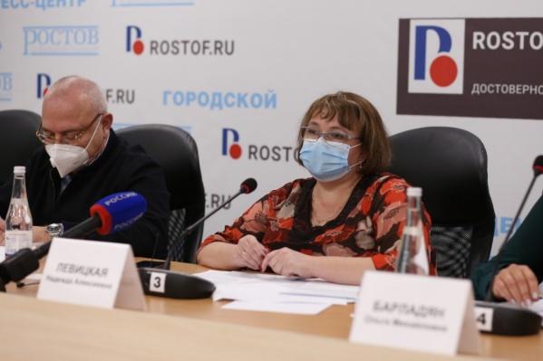 """Левицкая 26 октябряучаствовала в брифинге комиссии по расследованию инцидента в ГБ <nobr class=""""_"""">№ 20</nobr>"""