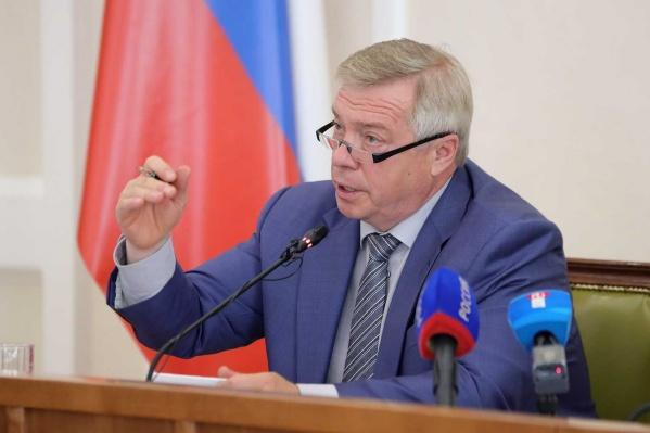 По словам губернатора, болельщики «Ростова» будут смотреть матч «с грустью»