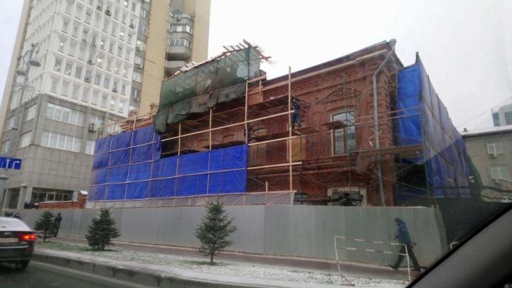 В центре Екатеринбурга восстановят старинный особняк, где было управление НКВД