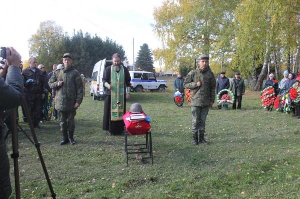 Останки солдата нашли на территории Украины
