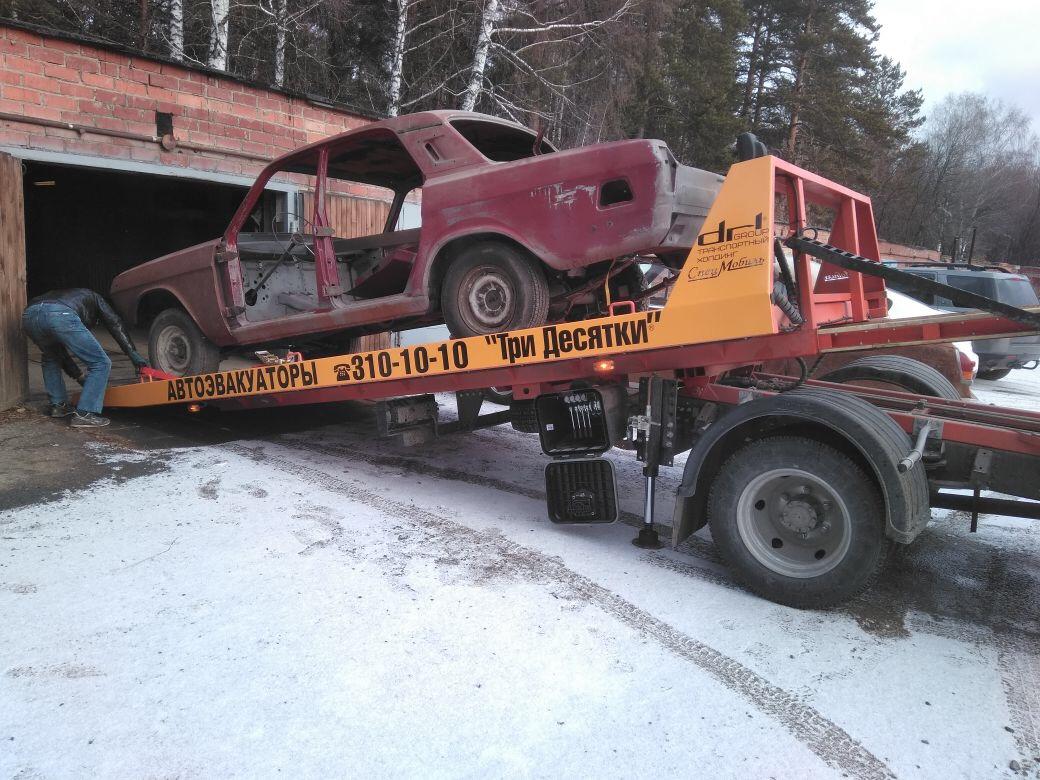 На реставрацию машины ушло два года