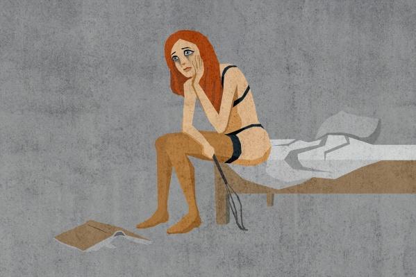 Пора оставить в покое эротические костюмы и позы из порно. Так и до растяжения недалеко
