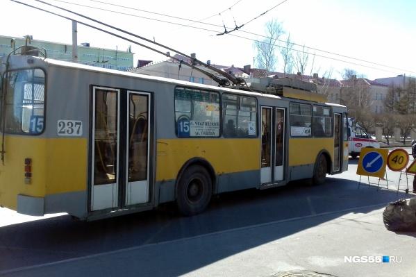 Троллейбус № 15, который связывал Московку-2 с Чкаловским, попал под сокращение