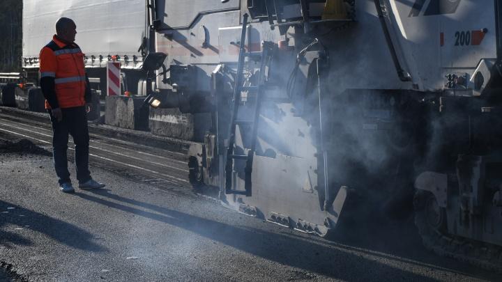В Екатеринбурге отремонтируют пять дорог, которые ведут к больницам