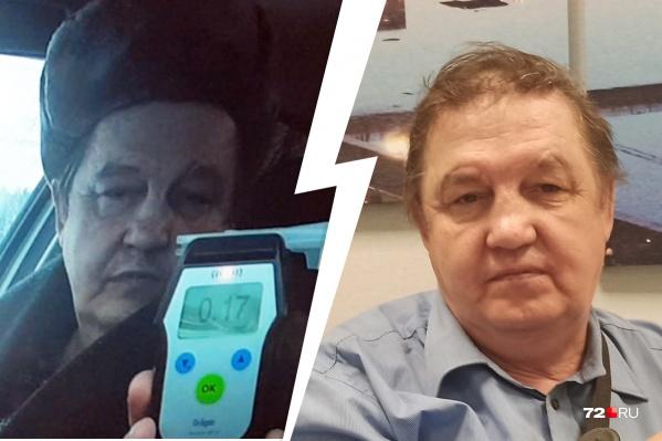 Николая Федотова лишили прав за превышение минимально допустимой нормы опьянения на одну сотую