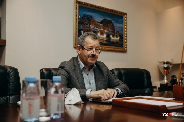 Николай Руссу, депутат Тюменской областной думы, генеральный директор «Мостостроя-11»