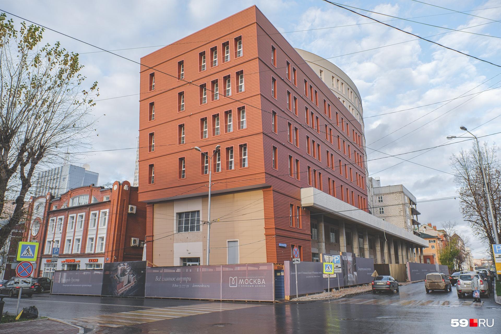 Так выглядит здание с другого ракурса