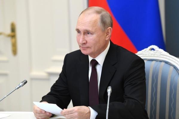 Владимир Путин задал Алексею Текслеру вопрос о свалке на заседании Госсовета в Москве