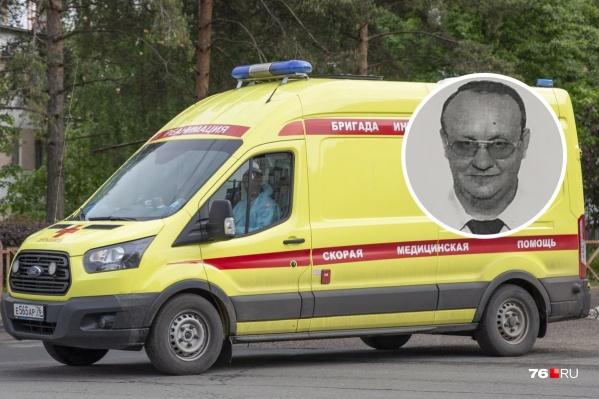 Прощание с Владимиром Паневым прошло в Ярославле