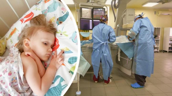 Свердловские онкологи удалили почку малышке, чтобы спасти ее. Вторая почка будет «работать за двоих»
