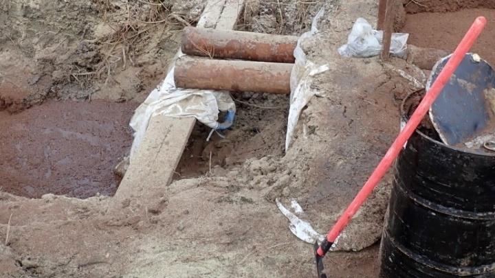 В НАО после разлива нефтепродуктов собрали 5 тонн загрязненного грунта