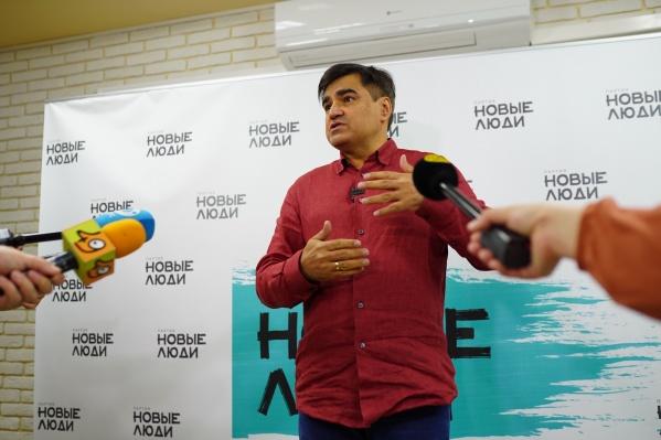 Основатель партии «Новые люди» Алексей Нечаев