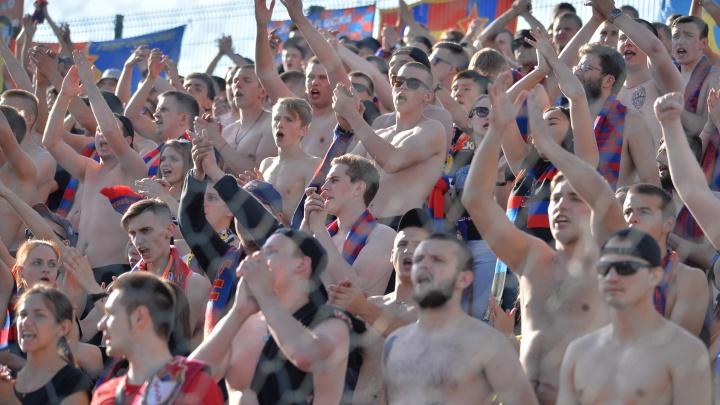 На «Екатеринбург Арене» футбольных фанатов посадят в клетку ради безопасности