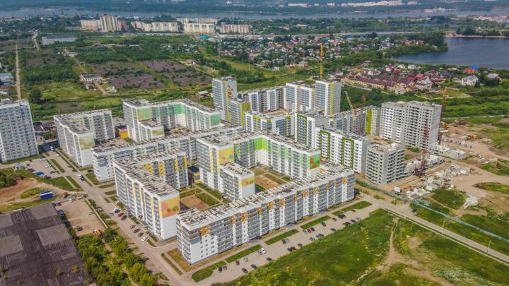 Один из ведущих застройщиков Перми ввел в эксплуатацию 7 жилых домов с начала текущего года