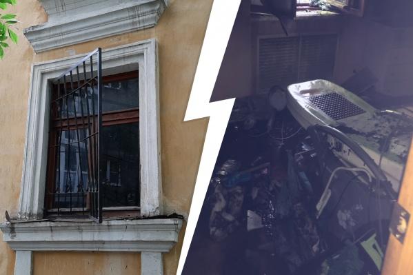 Пожар в доме на улице Зои Космодемьянской произошел утром 24 июня