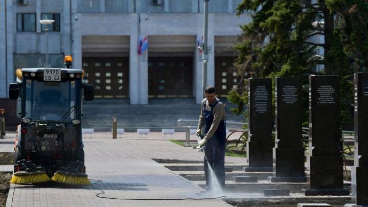 В Самаре из-за коронавируса Аллею маршалов откроют без зрителей