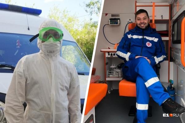 27-летний врач из Краснотурьинска шесть лет работал в реанимации, а последний год трудится в бригаде скорой