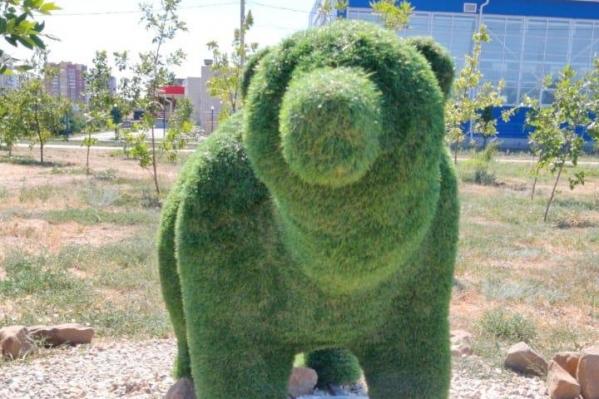 Вандалам приглянулся медведь из парка «Новый город»
