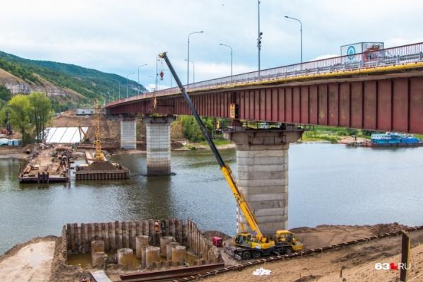 Новый мост пройдет параллельно старому